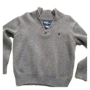 Little boys Polo sweater